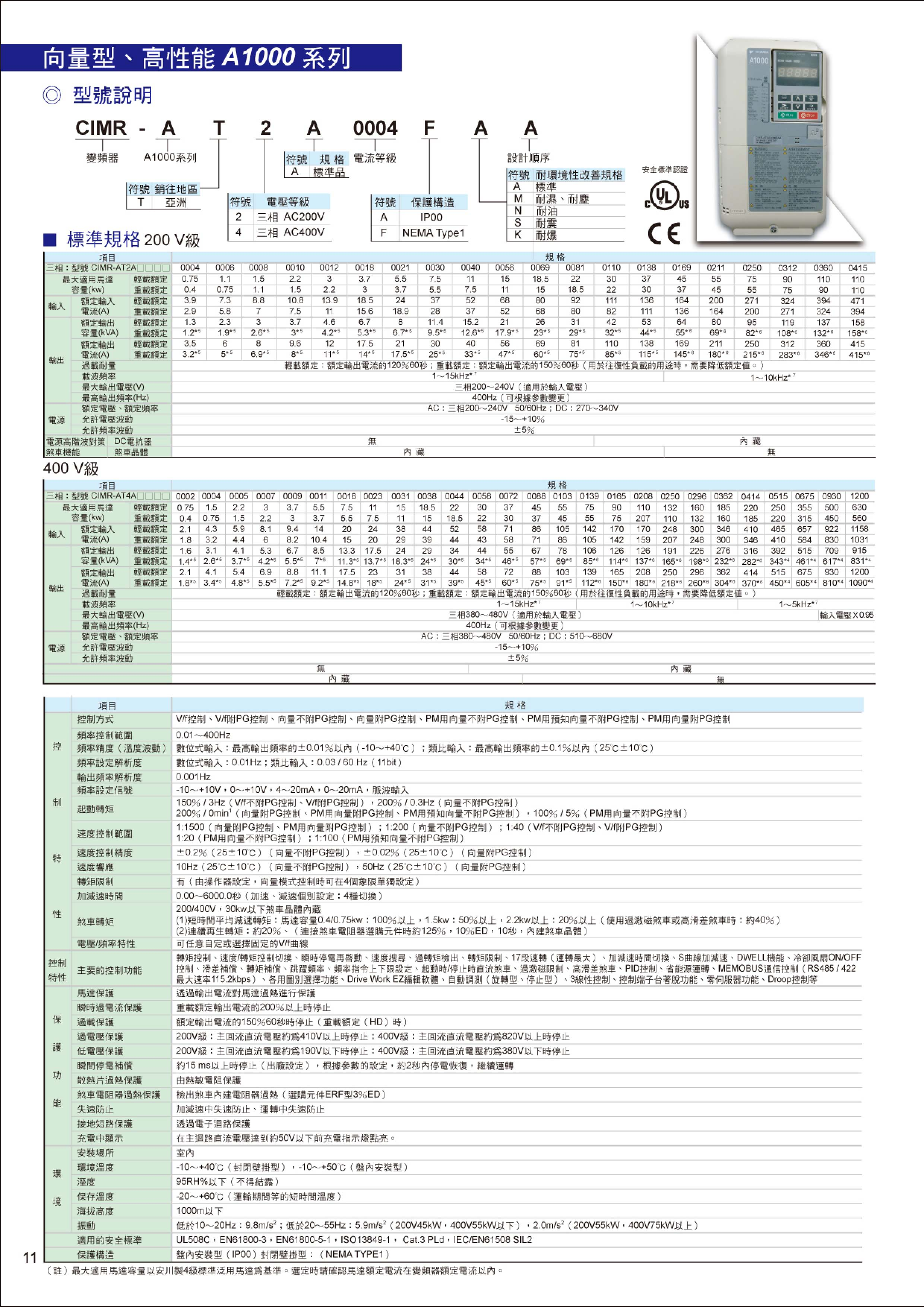 安川變頻器型錄-2012-07-12