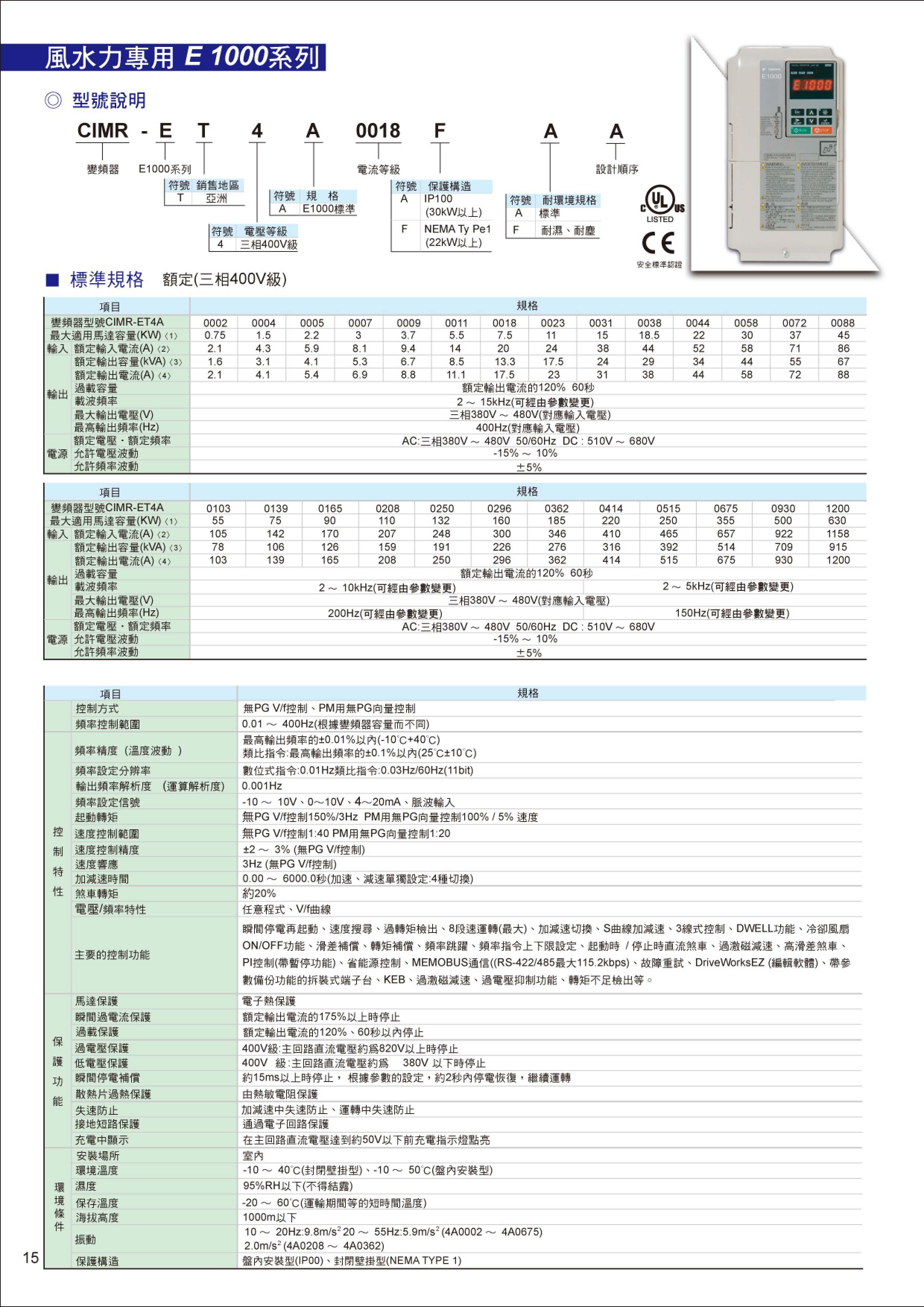 安川變頻器型錄-2012-07-16